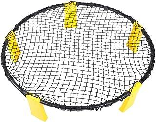 ビーチバレーボール、PVCバレーボールスパイクゲームセットバレーボールのあるビーチのトレーニング支援機器
