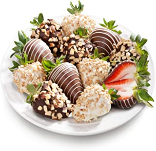 Golden State Fruit Nuts About Chocolate Covered Strawberries, 12 Berries