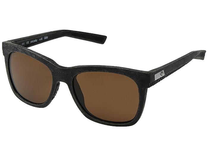 Costa  Caldera (Net Gray/Black Rubber Copper 580G) Athletic Performance Sport Sunglasses