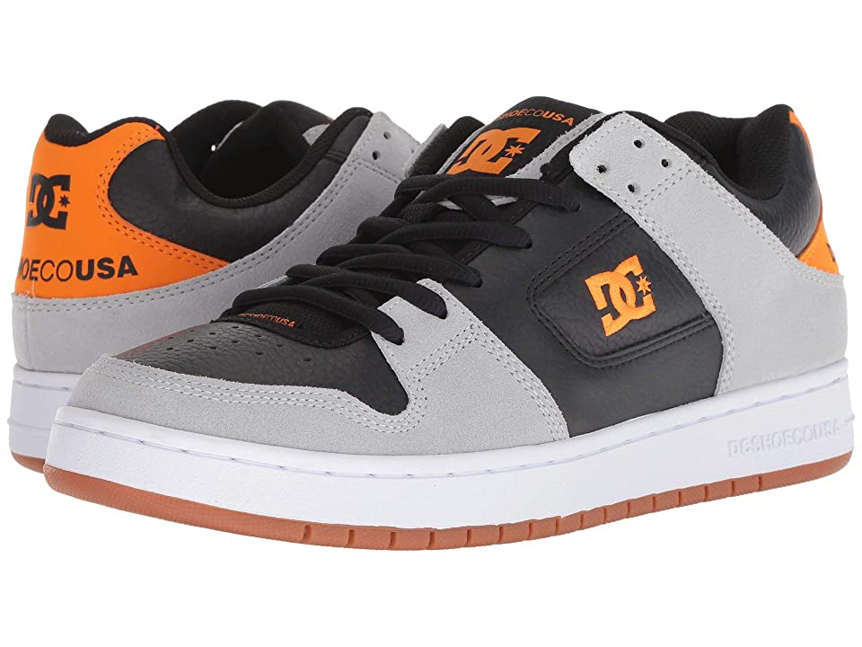 DC Manteca SE (Grey/Black/Orange) Men