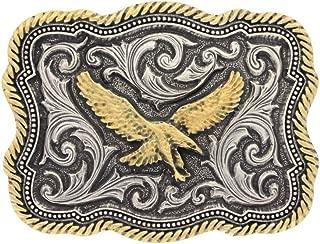 Men's Silver Soaring Eagle Belt Buckle - A613