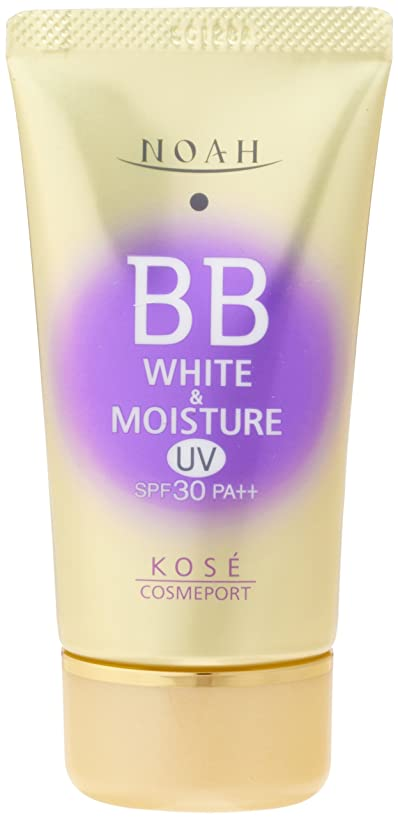 生む計り知れない実装するKOSE コーセー ノア ホワイト&モイスチュア BBクリーム UV02 SPF30 (50g)