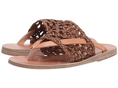 Ancient Greek Sandals Zenobia (Brown/Natural) Women