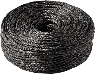 新潟エースロープ 熔着エースロープ310 小玉 5×100m 黒