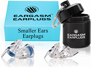 Eargasm Smaller Ears Earplugs for Concerts Musicians Motorcycles Noise Sensitivity Disorders and More! Two Different Sizes Included to Accommodate Smaller Ear Shapes!