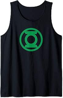 Green Lantern Green Emblem Tank Top