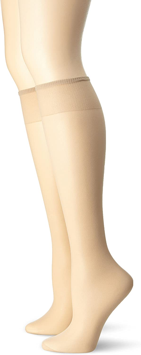 Ladies Shine Knee High By Silky One Size 15 Denier Reinforced Toe