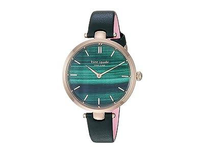Kate Spade New York 34 mm Holland Watch KSW1529 (Green) Watches