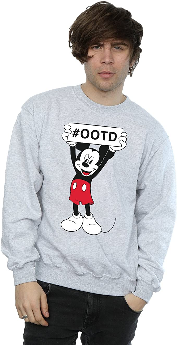 Disney hombre Mickey Mouse Outfit of the Day Camisa De ...