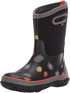 BOGS Kids' Classic Print Waterproof Rain Boot