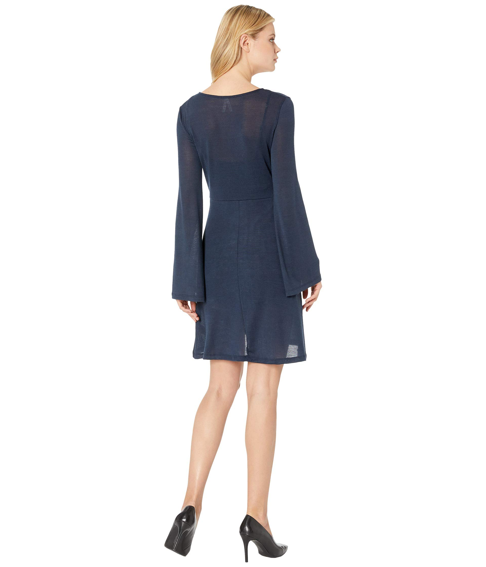 2264 Dress Blue Roper Knit Sweater wgAanSxFq0
