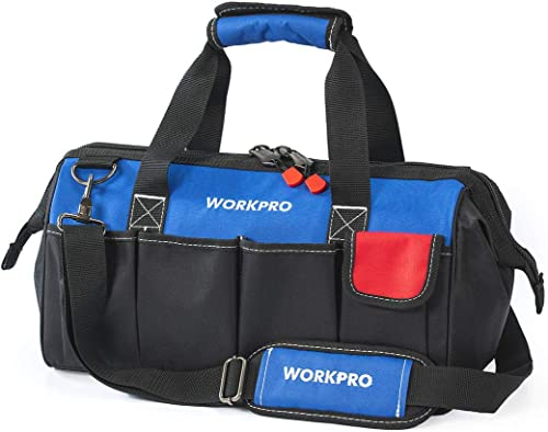 WORKPRO Tool Bag, Borsa portautensili Unisex-Adulto