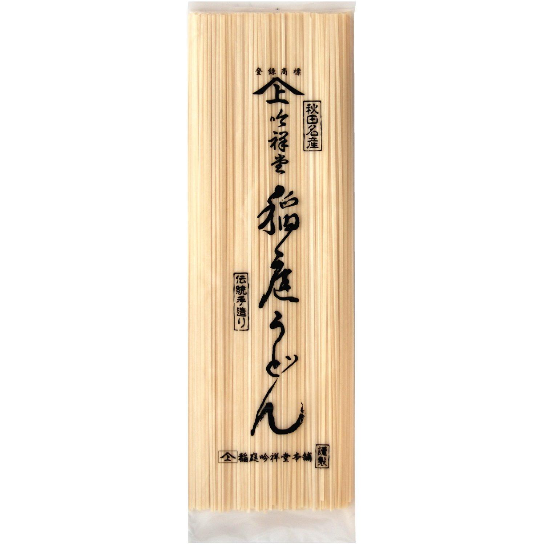 吟祥堂 手綯職人 稲庭うどん 業務用(G-50) 500g