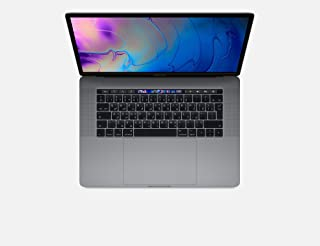 Apple 15.4 inches LED Laptop - Intel core_i9 2.3 GHz, 16 GB RAM, 512 GB SSD, macOS Sierra - Space Grey