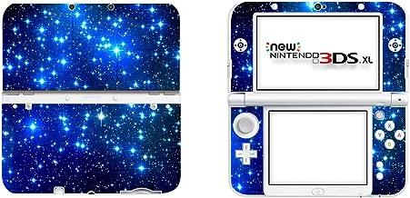 SKINOWN® Vinyl Cover Decals Skin Sticker for Nintendo New 3DS XL - Blue Starry Sky [Nintendo_3ds]