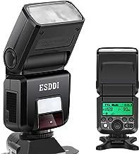 ESDDI Camera Flash for Sony A6000 A7III Speedlight, HSS 1/8000s TTL 2.4G Wireless Speedlite Flash for Sony Mirrorless A7 A7II NEX6 A6300 A6500 A58