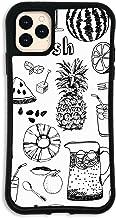 iPhone11 Pro Max ケース どこでもくっつくケース WAYLLY(ウェイリー) アイフォン11 Pro Maxケース 着せ替え 耐衝撃 米軍MIL規格 [トロピカル モノ] セット MK