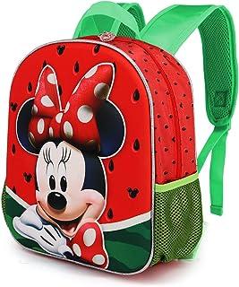 Minnie Mouse Sandía - Mochila 3D (Pequeña) Multicolor