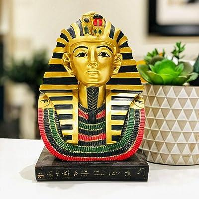 Puckator Lotusandlime - Figura Decorativa de Tutankamón: Amazon.es: Hogar