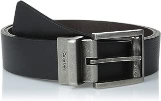 Calvin Klein Men's Reversible Harness Roller Buckle Belt