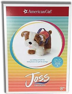 American Girl Doll Bulldog with Life Vest