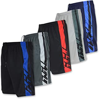 Best Wear Mens Mesh Long Athletic Running Basketball Active Shorts
