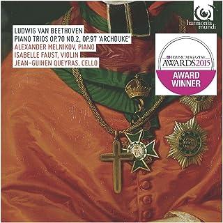 ベートーヴェン : ピアノ三重奏曲集 (Ludwig Van Beethoven : Piano Trios Op.70 No.2, Op.97 'Archduke' / Alexander Melnikov (piano) | Isabell...
