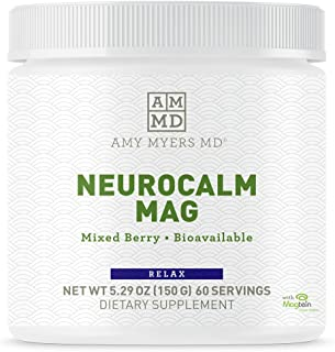 Sponsored Ad - NeuroCalm Magnesium Powder by Dr. Amy Myers - Best Form of Magnesium L-Threonate for Brain Health, Cognitiv...
