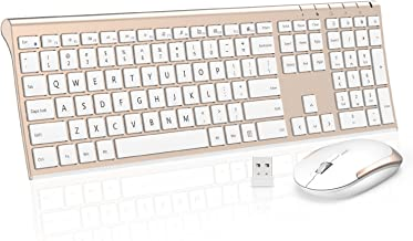 Best gold wireless mouse and keyboard Reviews