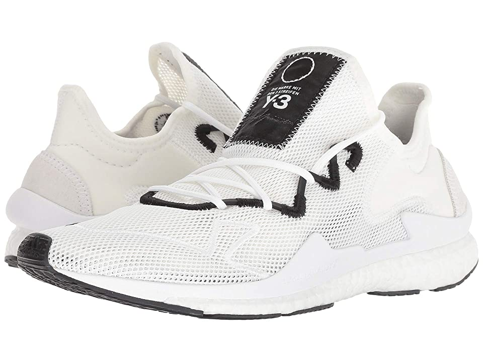 adidas Y-3 by Yohji Yamamoto Y-3 Adizero Runner (Footwear White/Core White/Black Y-3) Athletic Shoes