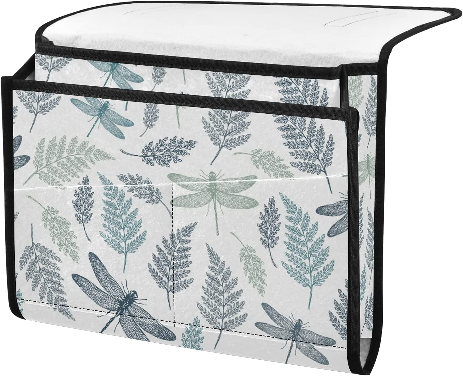 senya Dragonfly and Leaves Cad Limited time cheap sale Bedside Very popular Storage Organizer