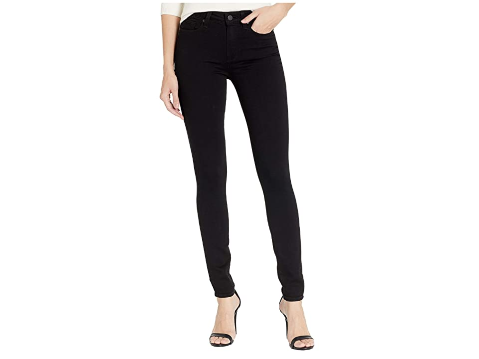 Paige Hoxton Ultra Skinny in Black Shadow (Black Shadow) Women's Jeans