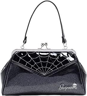 Spiderweb Backseat Baby Purse Silver