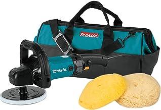 """Makita 9237CX3 Makita 7"""" Polisher, 10 AMP, 600-3,000 RPM, var. spd., loop handle with foam pad and bag, ,"""
