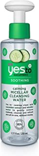 yes to micellar cleansing water