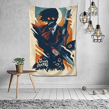 Vampire Empress Tarot Card Halloween Tapestry Gothic Wall Art Goth Wall Hanging