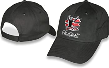 Competitors View Dale Earnhardt Sr #3 GM Goodwrench Service Plus Black with Blue White Red Accents Hat Cap One Size Fits Most OSFM Brand Plastic Snapback Hat