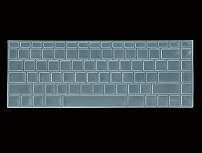 Saco Chiclet Keyboard Skin For HP Pavilion x360 14-ba075TX 14-Inch Laptop - Transparent