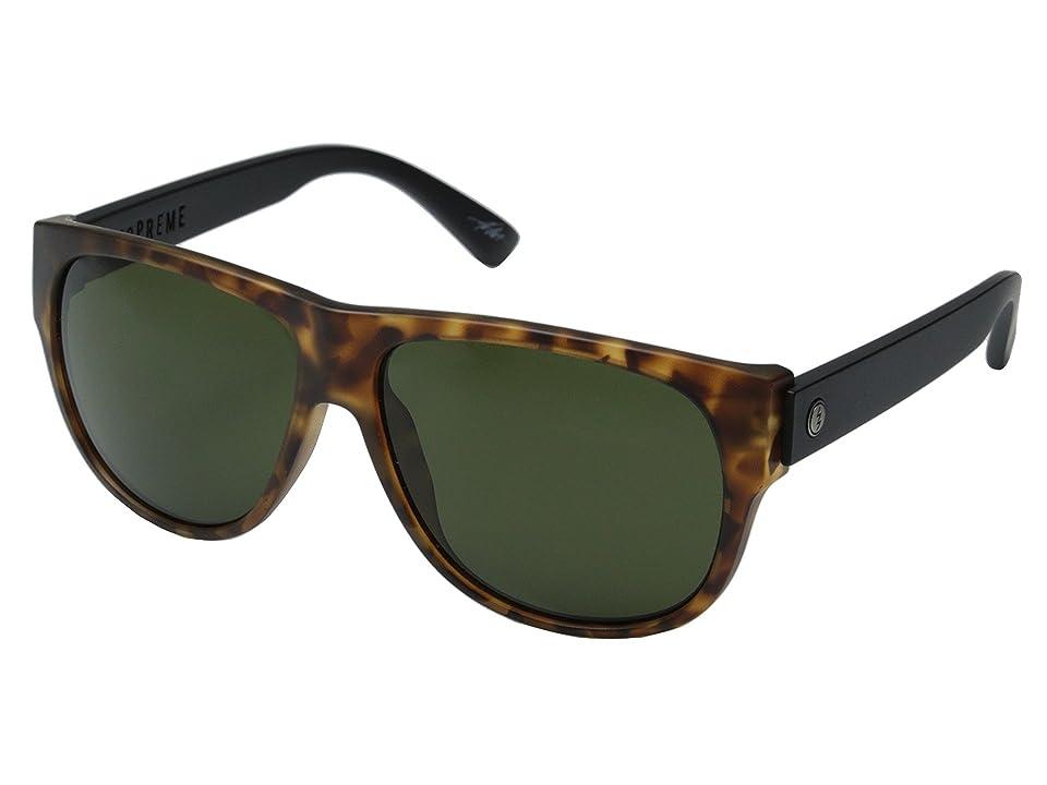 Electric Eyewear Mopreme (Matte Spotted Tort/Melanin Grey) Sport Sunglasses