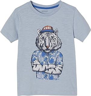 Vertbaudet T-Shirt garçon Motif Animal Fun crayonné