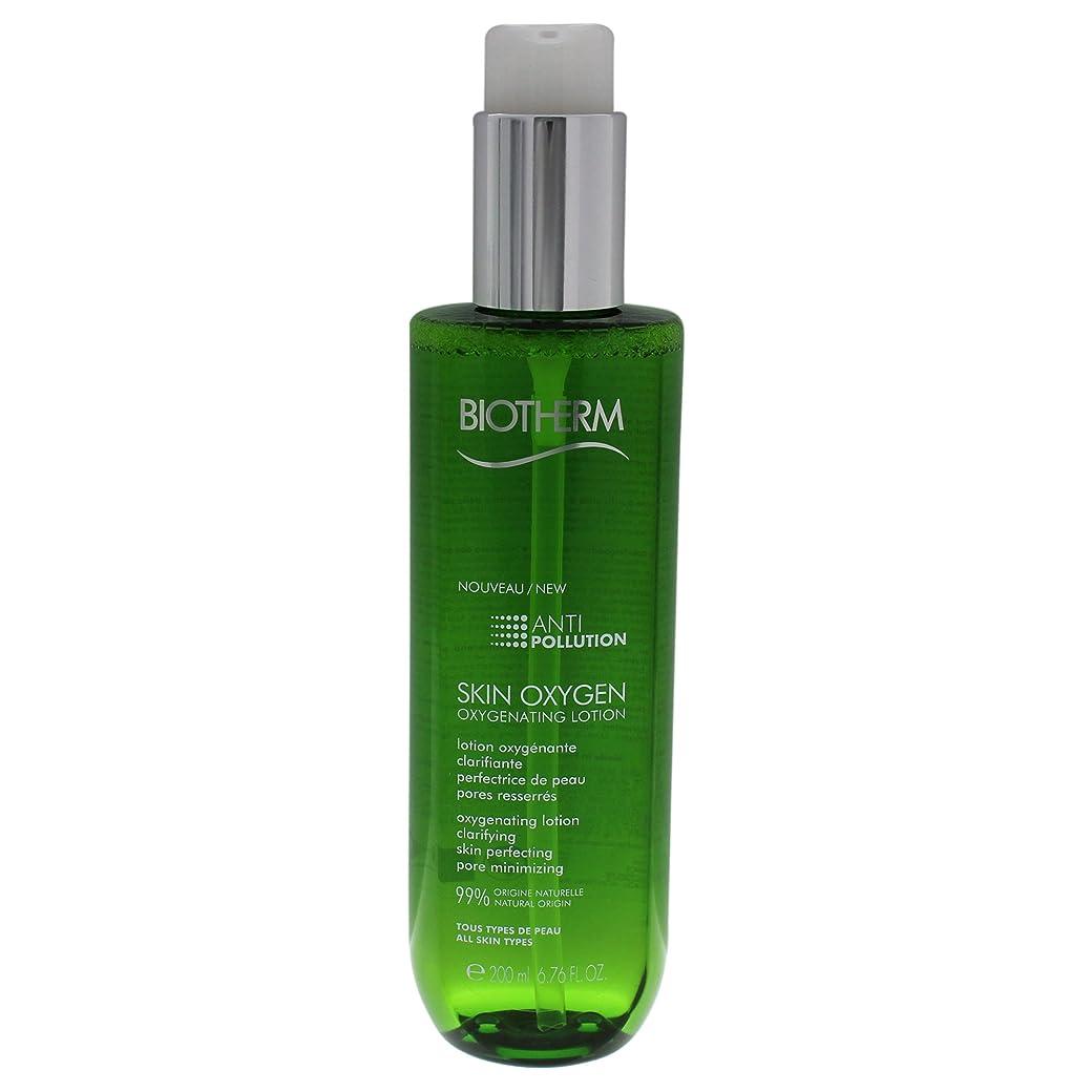 魔法政治家帝国主義ビオテルム Skin Oxygen Anti-Pollution Oxygenating Lotion 200ml/6.76oz並行輸入品