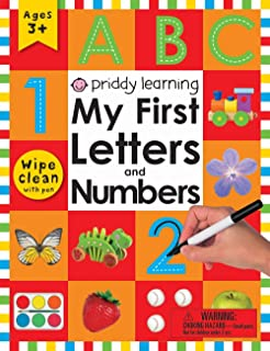 My First Letters and Numbers