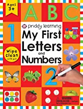 Wipe Clean Workbook: My First Letters and Numbers: Ages 3+; with pen