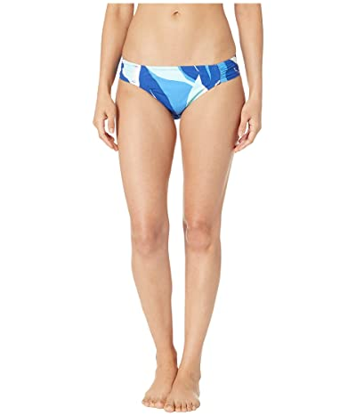 La Blanca Palm Reader Side Shirred Hipster Bottoms (Blue Multi) Women