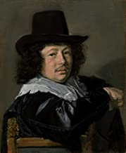 Fine Art Print - Frans Hals - Portrait of a Young Man 1646 - Vintage Wall Decor Poster Reproduction - 36in x 44in