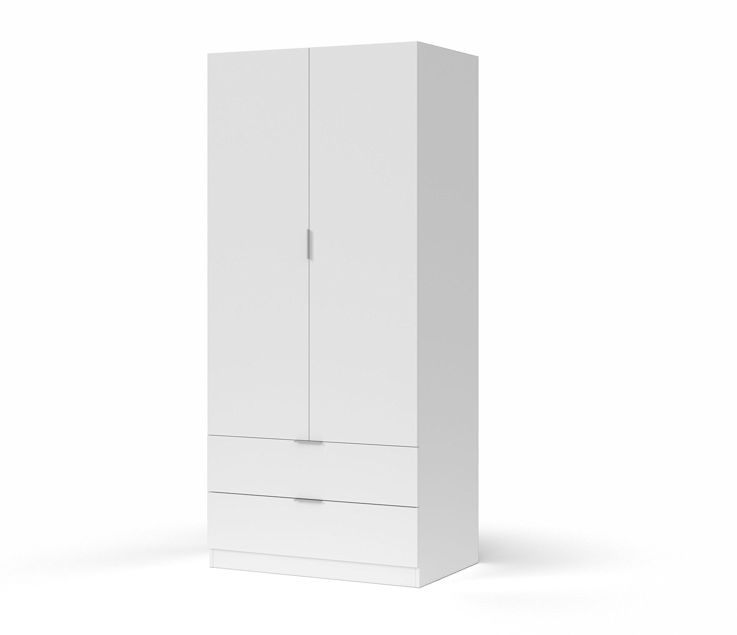 Habitdesign LCX222O - Armario ropero 2 Puertas y 2 cajones ...
