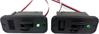 Apex RC Products 2 Pack - FUTABA Style Heavy Duty On/Off Switch with Bright LED and Charge Port 1060