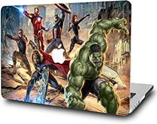 AQYLQ Hard Case for MacBook Air 13 Inch (2020 & 2019 & 2018 Release) A2179 / A1932 - Plastic Snap On Hard Shell Cover for MacBook Air Retina 13 with Touch ID,The Avengers DH-7