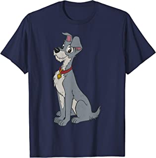 Disney Lady And The Tramp Simple Tramp Portrait T-Shirt