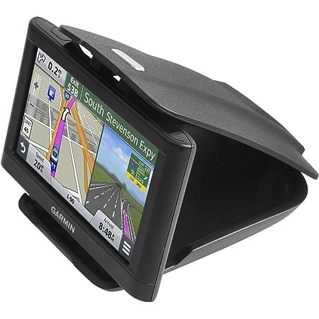 GPS Dash Mount [Matte Black Dock] for Garmin Nuvi Drive Dezl Drivesmart, Tomtom, Magellan Roadmate, Rand McNally, Navman, Cell Phone - Car Adhesive Non-Slip Dashboard Replacement Holder for Satnav